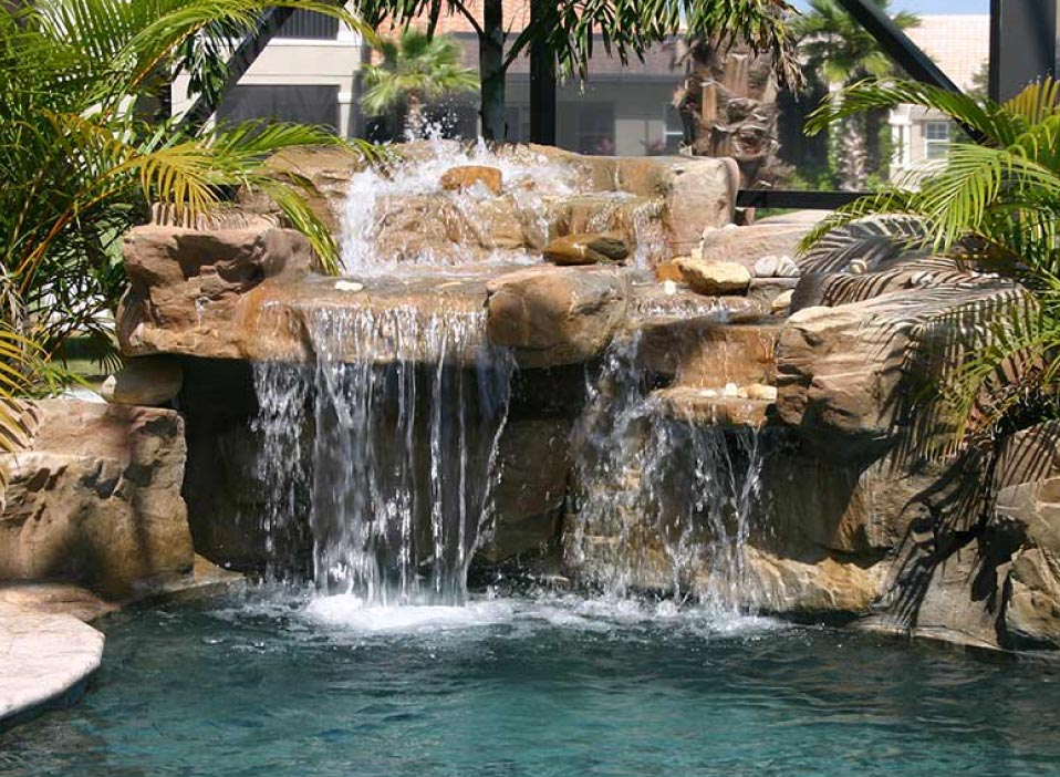 Sarasota Landscape Waterfalls Pool Features Ponds Fountains Streams And Bridges Sarasota Fl